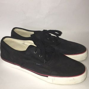 POLO by RALPH LAUREN Black Suede Sneakers